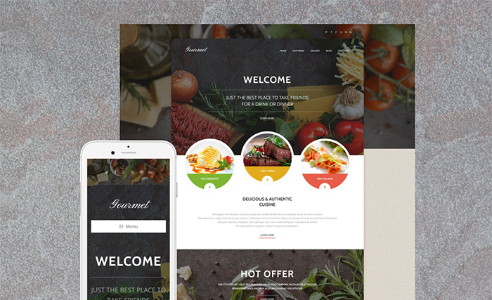 Cafe WordPress Theme