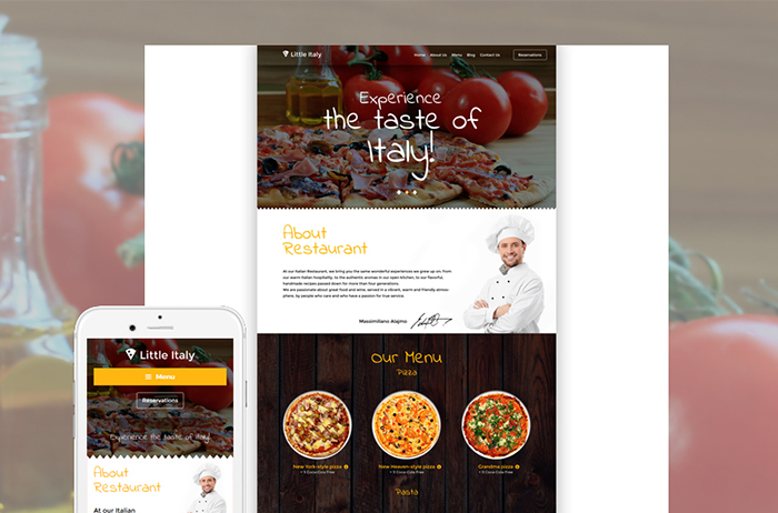 25+ Best Restaurant, Food & Drinks WordPress Themes 2017