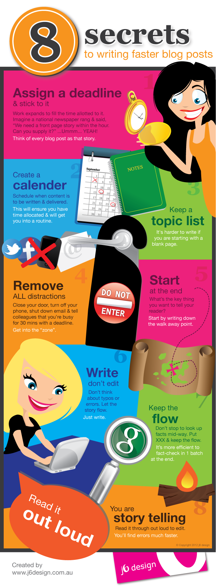 How to Write Faster blog posts