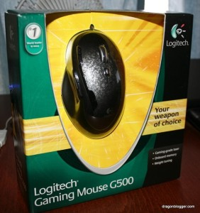 LogiTech Gaming mouse
