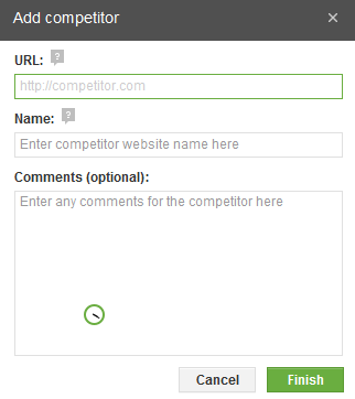 Add Competitors
