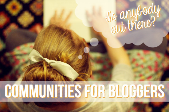 bloggers communities