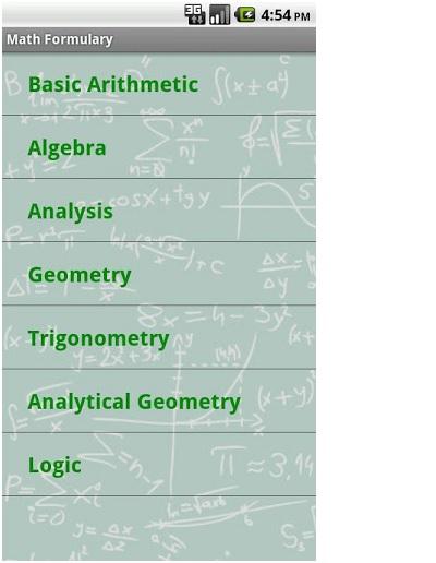 math-formulary-app