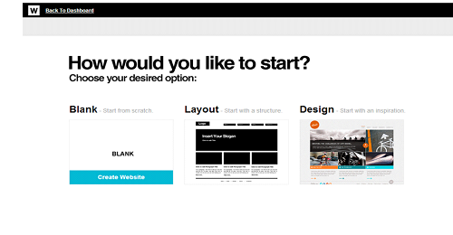 Webydo Start Design