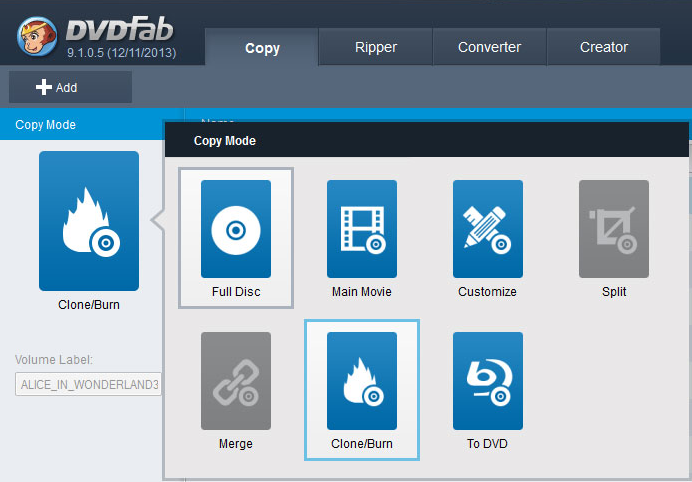 Blue-Ray copy Software
