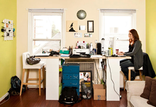 Home Office Design Tips To Stay Healthy: How To Keep Your Home Clutter-free