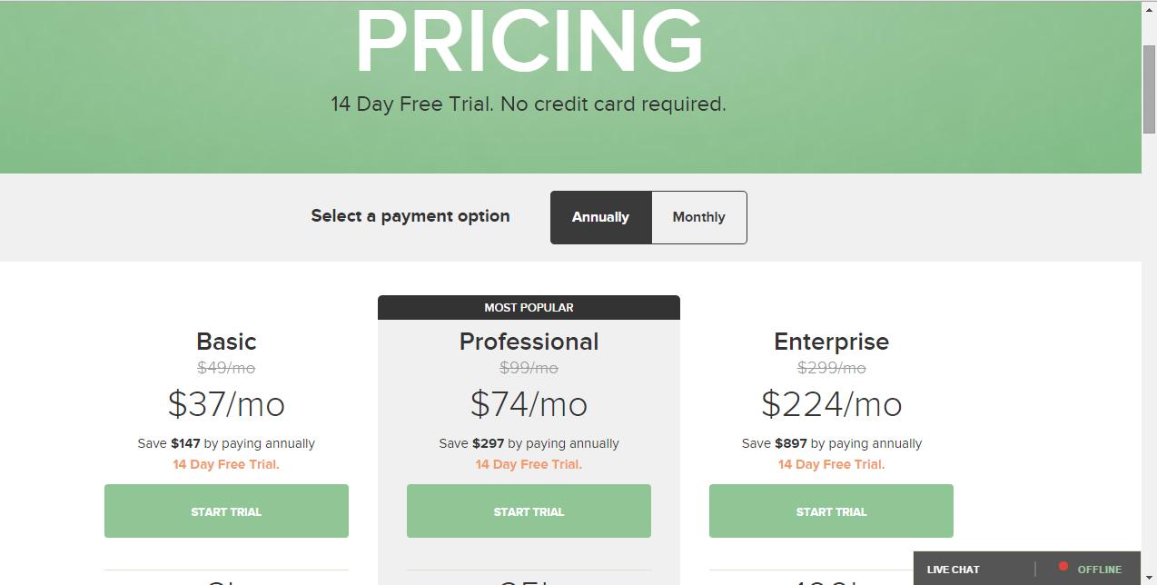 Lander vs GetResponse: Price