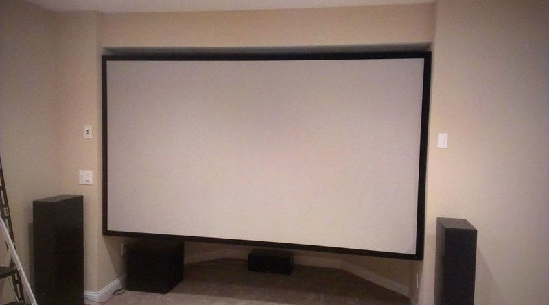 Ideal Projection Screen Material