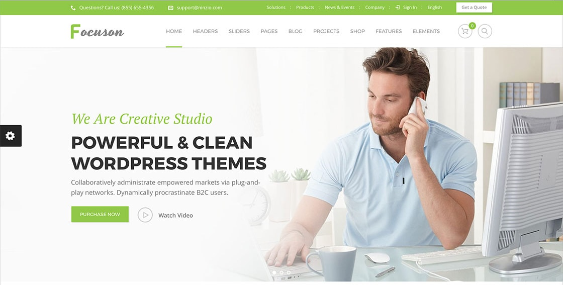 Best Creative WordPress Themes For Marketing Agency