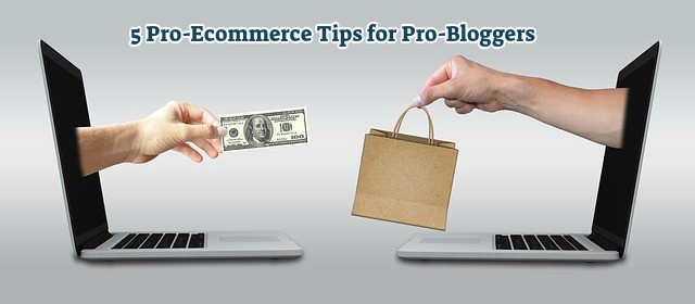 Pro-Ecommerce Tips for Pro-Bloggers