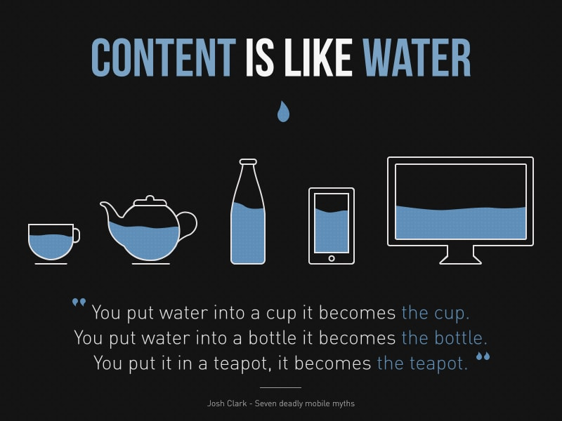 Make Content Like Water