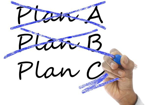 Plan A-B-C