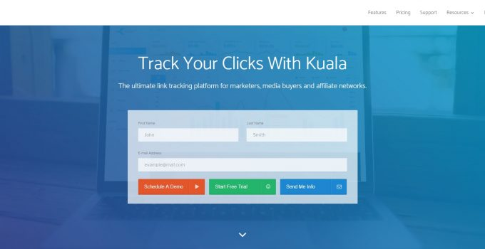 Link Tracking Reporting and Optimization for Performance Marketers and Affiliate Networks